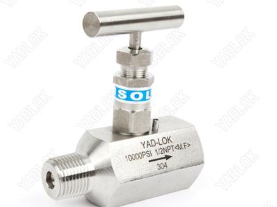 hexagonal MF needle valve